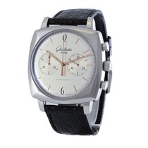 Glashütte Original Sixties Square Chronograph Steel Silver United States of America, Massachusetts, Andover