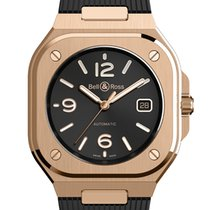 Bell & Ross BR 05 Rose gold 40mm Black Arabic numerals United States of America, Florida, Miami