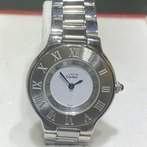 Cartier W10109T2 Steel 2004 21 Must de Cartier 28mm pre-owned United States of America, Florida, Miami
