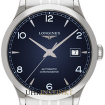 Longines Record L2.821.4.96.6 2019 new
