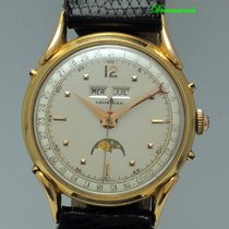 Leonidas Yellow gold 35mm Manual winding pre-owned