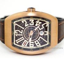 Franck Muller Bronze Automatic Brown Arabic numerals 44mm new Vanguard