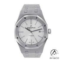 Audemars Piguet Royal Oak Selfwinding Сталь 41mm Белый Без цифр