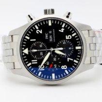 IWC Pilot Chronograph novo Automático Cronógrafo Relógio com caixa e documentos originais IW377710