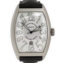 Franck Muller 38mm Automatic pre-owned Casablanca White