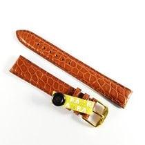 Wempe 15mm brown alligator leather strap Kaufmann & pin...