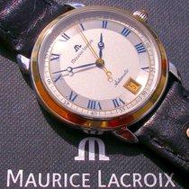 Maurice Lacroix Les Mécaniques Date, Stahl-/18K-Massivgold