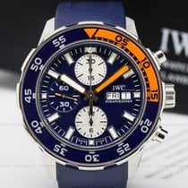 IWC IW376704 Aquatimer Chronograph Automatic / Blue Rubber...