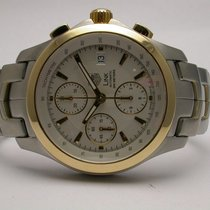 TAG Heuer Link Chronograph Steel And Gold Automatic Mens Watch...