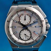 IWC Ingenieur Chronograph Racer Otel 45mm Argint Fara cifre