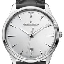 Jaeger-LeCoultre Master Ultra Thin Date Acero 40mm Plata Sin cifras