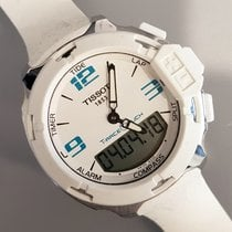 Tissot T-Race Touch Steel 42,1mm White Arabic numerals