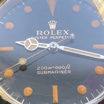 Rolex Submariner 5513 Gilt Rare Dial Crazy Patina