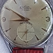 Sigel Ferrotex Mechanical Cal As 1130 Diam Case 35mm +Crown 1960 occasion