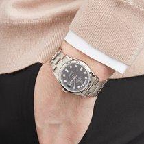Rolex Day-Date 36 Witgoud 36mm Zwart Nederland, Amsterdam