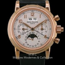 Patek Philippe Perpetual Calendar Chronograph Rose gold 36.4mm No numerals