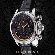 Louis Moinet Steel 45,5mm Automatic LM-24.10.55 new