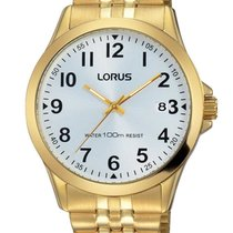 Lorus Steel Quartz White 38mm new