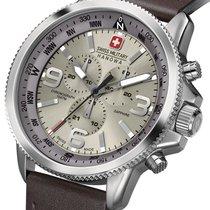 Swiss Military Chronograaf 47mm Quartz nieuw Hanowa Arrow Grijs