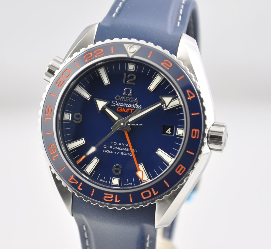 Omega Seamaster Planet Ocean GMT GOOD PLANET 232.32.44.22.03.001 za ... ea6e7b6a52d