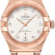 Omega 131.50.29.20.52.001 Rose gold 2021 Constellation 29mm new United States of America, New York, Airmont
