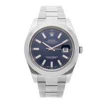 Rolex Datejust II Steel 41mm Blue No numerals United States of America, Pennsylvania, Bala Cynwyd