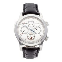Jaeger-LeCoultre Master Grand Réveil Steel 43mm Silver No numerals United States of America, Pennsylvania, Bala Cynwyd