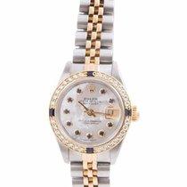 Rolex Lady-Datejust Gold/Stahl 26mm Perlmutt