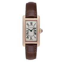 Cartier Tank Américaine new Quartz Watch with original box and original papers WATCH W2607456