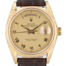 Rolex Day-Date 36 Yellow gold 36mm Champagne Roman numerals United States of America, New Hampshire, Nashua