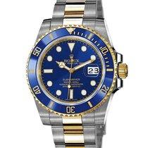 Rolex Submariner Date Gold/Stahl 40mm Blau Keine Ziffern Deutschland, Frankfurt am Main