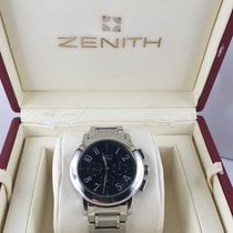Zenith Port Royal Acero 40mm Negro