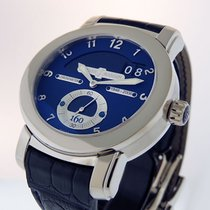 Ulysse Nardin White gold Automatic Blue Arabic numerals 43mm pre-owned Classic