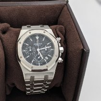 Audemars Piguet Royal Oak Chronograph occasion 39mm Noir Chronographe Date Acier
