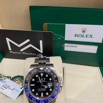 Rolex GMT-Master II Ocel 40mm Černá Bez čísel