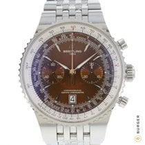 Breitling Montbrillant Légende Steel 47mm Brown No numerals