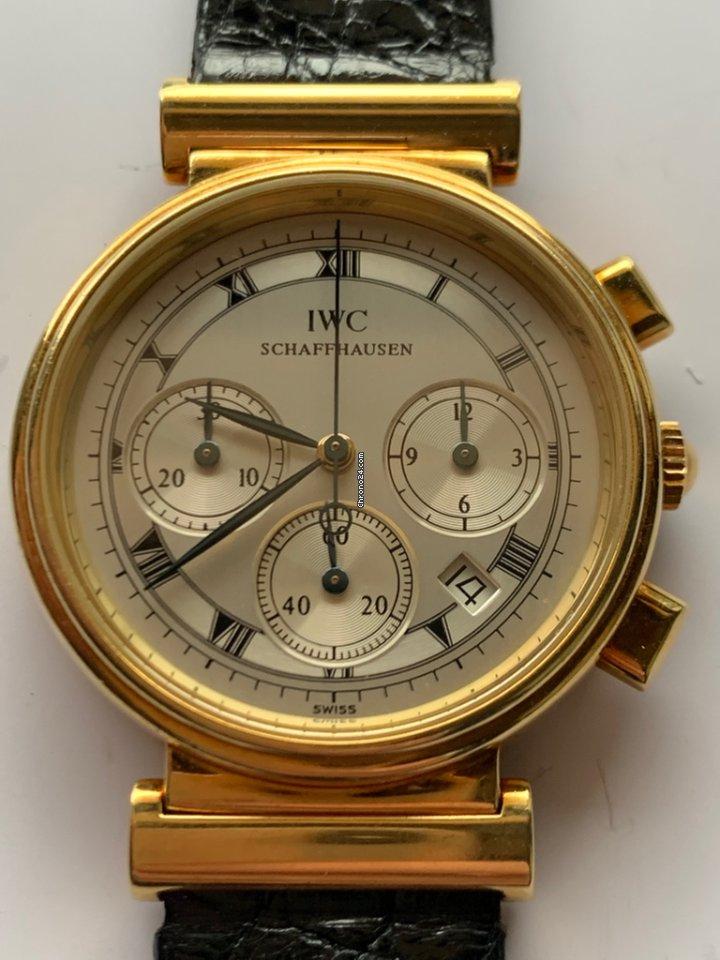 IWC Da Vinci Chronograph IW3739 1991 подержанные