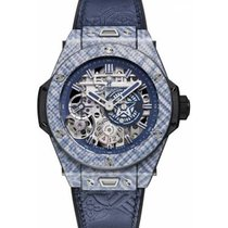 Hublot Big Bang Meca-10 Carbon 45mm Transparent Keine Ziffern