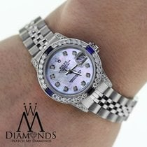 Rolex Ladies Rolex Datejust 26mm Jubilee Bracelet  Diamonds...