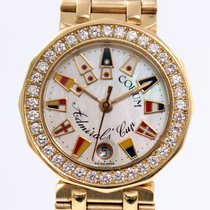 Corum Admiral's Cup 26mm Lady's with Diamonds