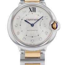 Cartier Ballon Bleu WE902031 Gold and Steel Ladies Watch
