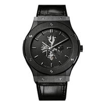 Hublot 45mm Cuerda manual nuevo Classic Fusion Ultra-Thin Negro