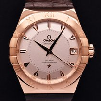 Omega Constellation Co-axial Rose Gold