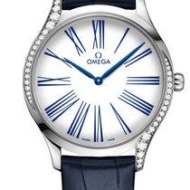Omega De Ville Trésor neu Quarz Uhr mit Original-Box und Original-Papieren 428.18.39.60.04.001