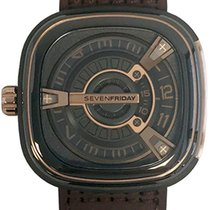 Sevenfriday Gold/Steel 47,00mm Automatic M2/02 new