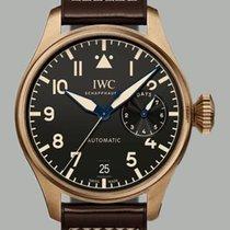 IWC Big Pilot Bronze Black Arabic numerals