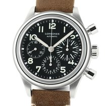 Longines Avigation Steel 41mm Black Arabic numerals United States of America, New York, New York