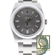 Rolex Oyster Perpetual 36 Steel 36mm Silver No numerals
