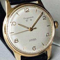 Dugena Handaufzug mit Goldplaque von ca. 1965 mit Dugena 1150...