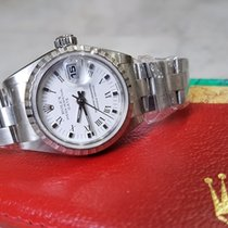 Rolex Oyster Perpetual Lady Date Steel 26mm White Roman numerals Singapore, 10 Admiralty Street Level 5 #05-12 Northlink Building (757695)
